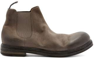 Marsèll Zucca Suede Chelsea Boots - Mens - Grey