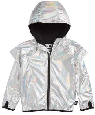 Nununu Hooded Nylon Jacket