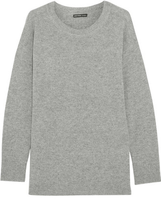 James Perse - Oversized Cashmere Sweater - Gray $375 thestylecure.com