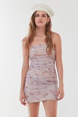 Daisy Street Cherub Mesh Bodycon Mini Dress