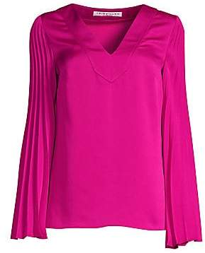 29ed2264cdd2b Trina Turk Women s Cocktail Soirée Almande Pleat-Sleeve Blouse