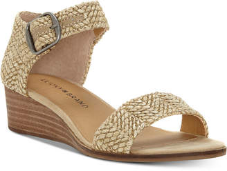 Lucky Brand Women Riamsee Wedge Sandals Women Shoes