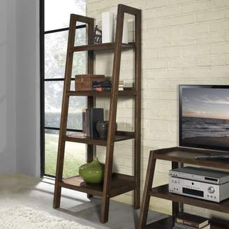 Simpli Home Sawhorse Ladder Shelf