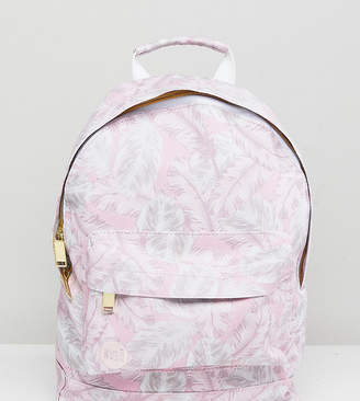 Mi-Pac Exclusive Mini Tumbled Backpack in Feather Print
