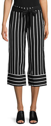 INC International Concepts Striped Cropped Pants