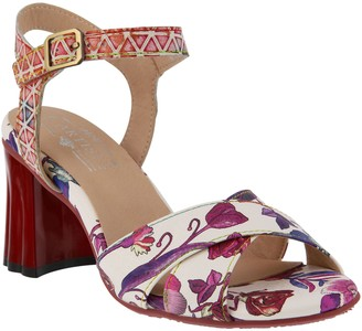 Spring Step L'Artiste by Ankle Strap Sandals -Galexia