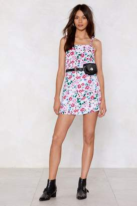 Nasty Gal Rose Above It Cami Dress