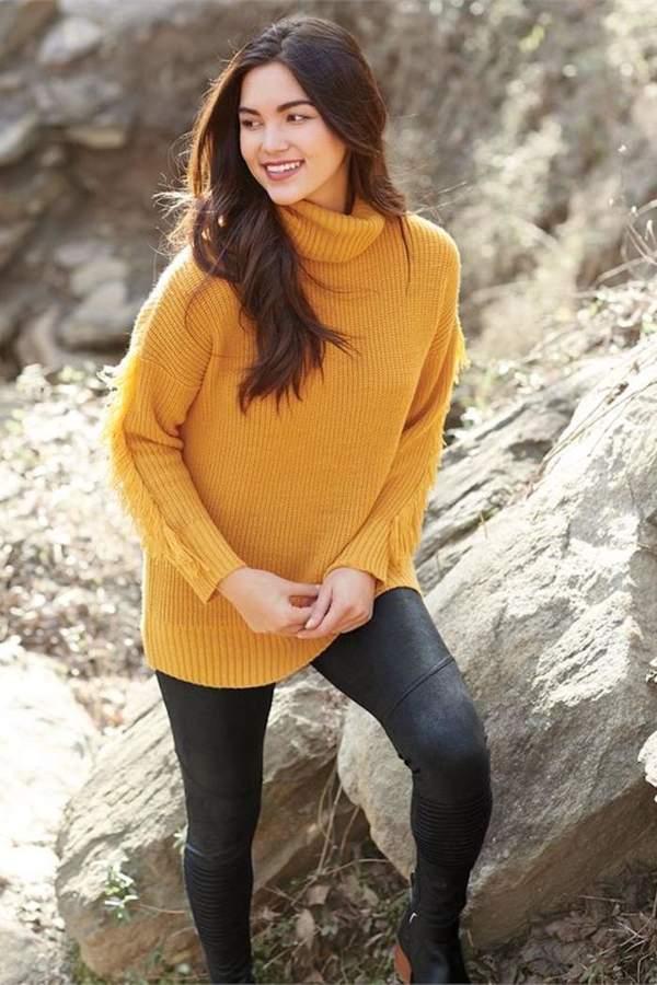 Candice Fringe Sweater