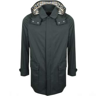 Aquascutum London Dexter Parka Jacket Green