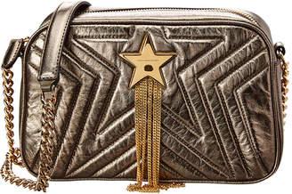Stella McCartney Stella Star Small Metallic Shoulder Bag