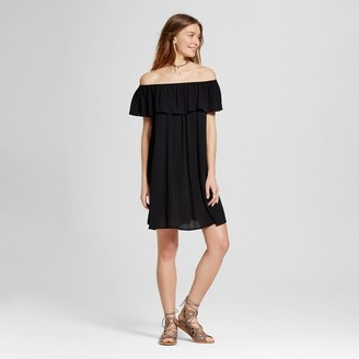 Mossimo Supply Co. Women's Off the Shoulder Dress Black - Mossimo Supply Co. $22.99 thestylecure.com