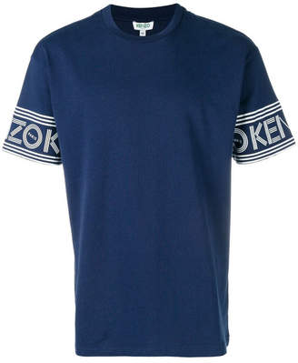 T-shirt With Logo On The Sleeves