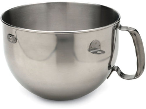 KitchenAid 6-qt. Mixing Bowl with Handle, Stainless