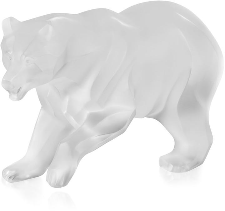 Lalique Bear Figurine