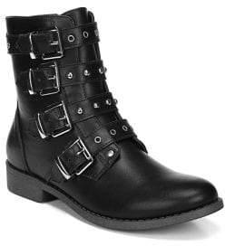 Fergalicious March Faux Leather Booties