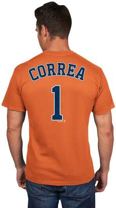 Majestic Men's Houston Astros Carlos Correa Player Name and Number Tee
