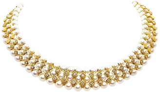 Non Signé / Unsigned Vintage Non Signe / Unsigned Gold Yellow gold Necklace