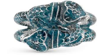 Gucci Garden enamel snakes ring