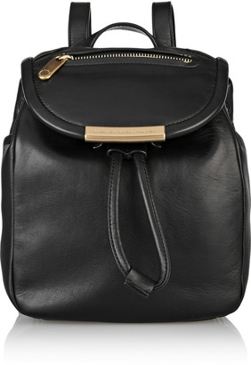 Marc by Marc Jacobs Luna mini leather backpack $400 thestylecure.com