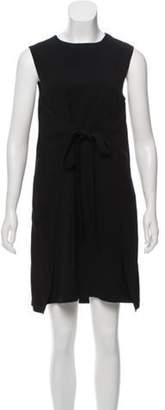 Helmut Lang Sleeveless Mini Dress Black Sleeveless Mini Dress