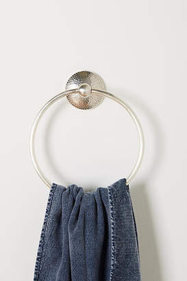 Anthropologie Hammered Towel Ring