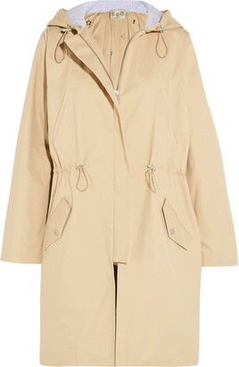 SEA - Twill And Broderie Anglaise Cotton Jacket - Beige $645 thestylecure.com