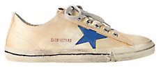 V Star 2 Gold Canvas Sneakers