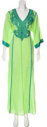 Calypso Long Sleeve Maxi Dress w/ Tags