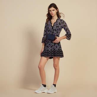 Sandro Short guipure dress