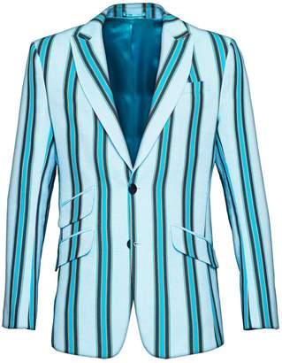 Koy Clothing - Blue Striped Blazer Luo
