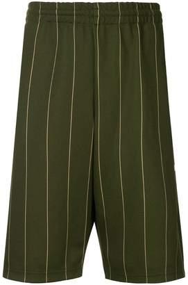 MSGM pinstriped shorts