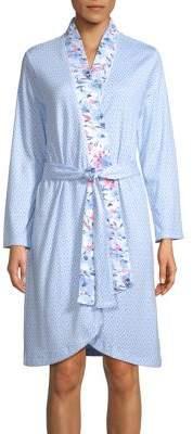 Carole Hochman Diamond Neat and Florals Robe