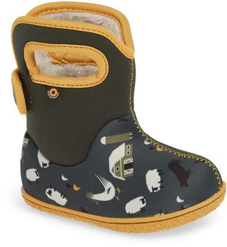 Bogs Baby Bog Farm Insulated Waterproof Boot