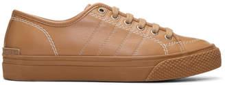 Stella McCartney Tan Contrast Stitch Sneakers