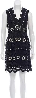 Anna Sui Crochet Knit Mini Dress w/ Tags