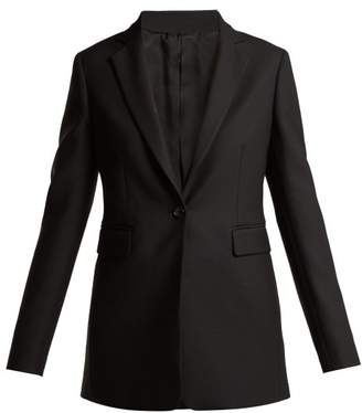 Joseph Lorenzo Single Breasted Twill Blazer - Womens - Black