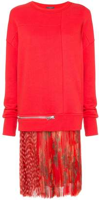 Alexander McQueen sweatshirt dress