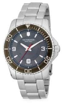 Victorinox Stainless Steel Bracelet Watch