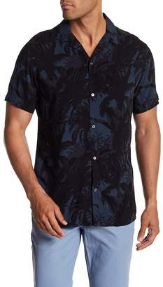 Slate & Stone Modern Fit Woven Short Sleeve Button Down Shirt