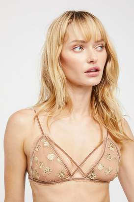 For Love & Lemons Golden Garden Bralette