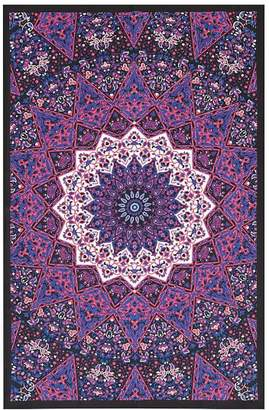 Pottery Barn Teen Printed Tapestries, Purple/Pink, 50x80