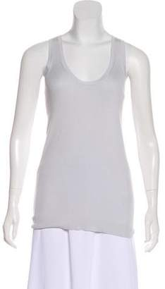 Burberry Sleeveless Scoop Neck Top w/ Tags