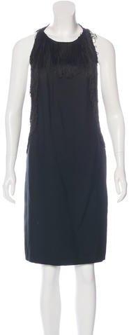 3.1 Phillip Lim3.1 Phillip Lim Fringe-Trimmed Silk Dress