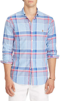 Polo Ralph Lauren Plaid Cotton Sport Shirt