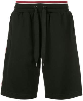 Dolce & Gabbana side-stripe drawstring shorts