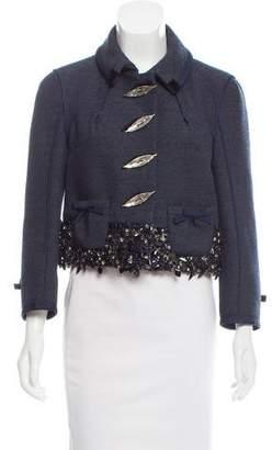 Louis Vuitton Embellished Wool Jacket