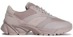 Axel Arigato Leather, Suede And Mesh Sneakers