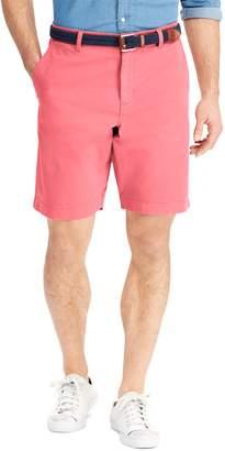 Chaps Big & Tall Flat-Front Stretch Twill Shorts