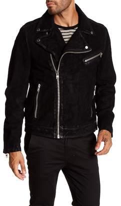Moto LAMARQUE Washed Nubuck Jacket