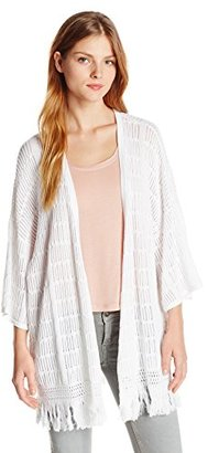 Design History Women's Open Front Cardigan $149 thestylecure.com